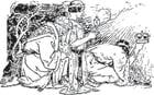 Malvorlage  Heilige Drei Könige