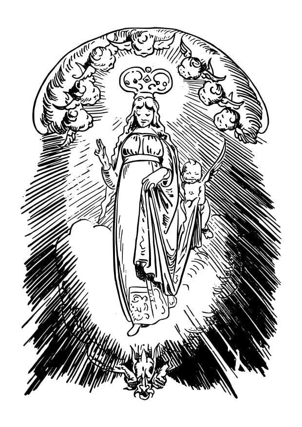 Atemberaubend Heilige Malvorlagen Katholisch Bilder ...