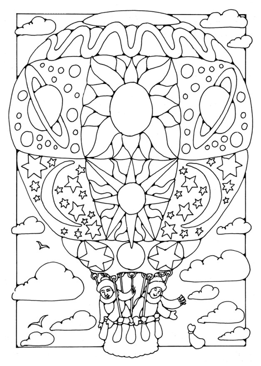 Großzügig Heißluftballon Farbseite Galerie - Ideen färben - blsbooks.com