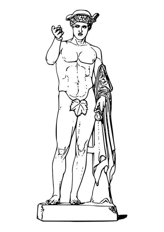 Ziemlich Griechische Götter Malvorlagen Ideen - Beispiel Anschreiben ...