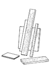 Malvorlage  Holz