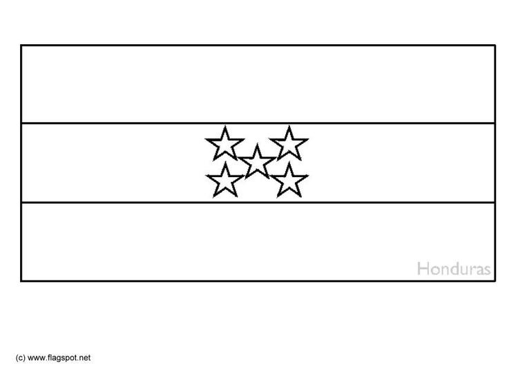 Atemberaubend Honduras Flagge Ausmalbilder Fotos - Framing ...