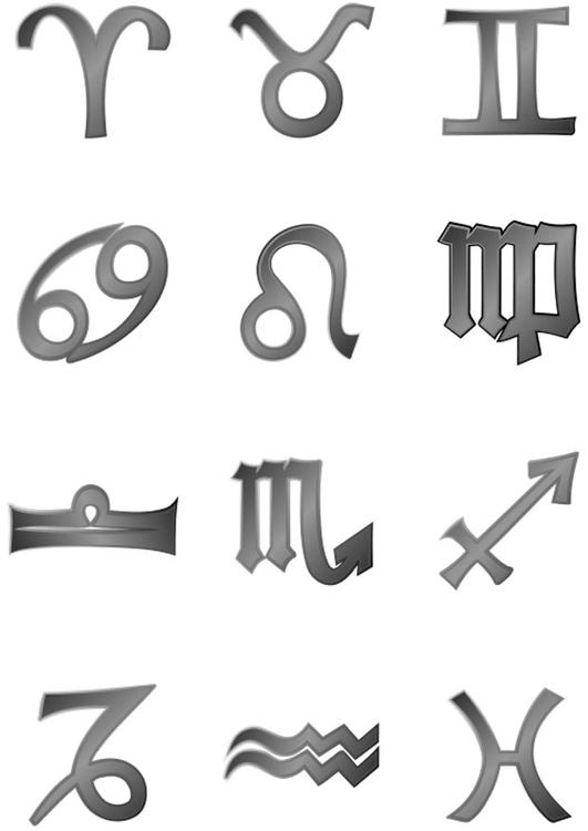 malvorlage horoskop  kostenlose ausmalbilder zum ausdrucken