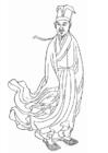 Malvorlage  Huang Tingjian