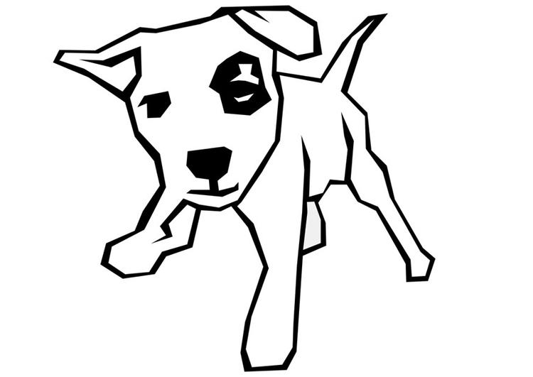 Kleine Honden Kleurplaat Malvorlage Hund Ausmalbild 10007