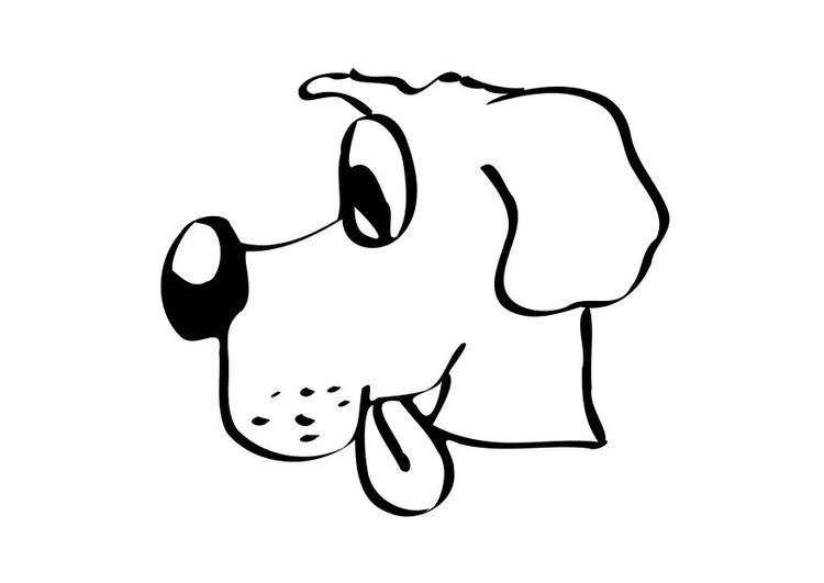 malvorlage hund  ausmalbild 10233