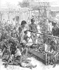 Malvorlage  Hungersnot in Indien