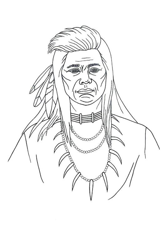 malvorlage indianer - kostenlose ausmalbilder zum ausdrucken.