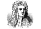 Malvorlage  Isaac Newton