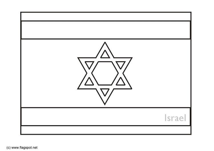 Malvorlage Israel Ausmalbild 6285 Images