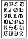 italienisch gotische Schrift
