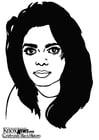 Malvorlage  Janet Jackson