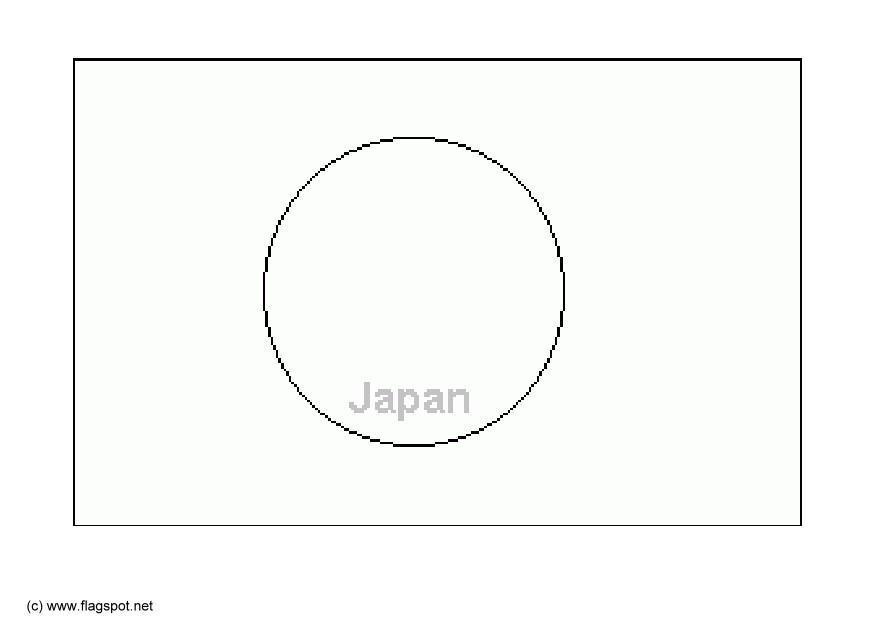 Malvorlage Japan | Ausmalbild 6286.
