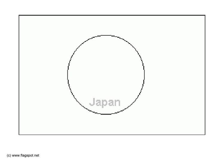 Malvorlage Japan   Ausmalbild 6286.