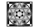 Malvorlage  jüdische Abbildung