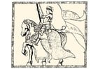 Malvorlage  Jeanne d'Arc