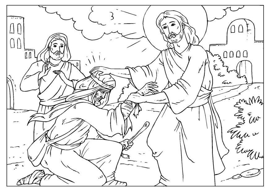 Malvorlagen Jesus Heilt | My blog