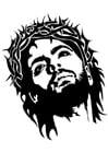 Malvorlage  Jesus