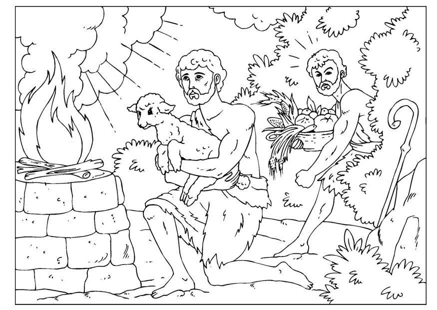 Malvorlage Kain Und Abel Kostenlose Ausmalbilder Zum Ausdrucken