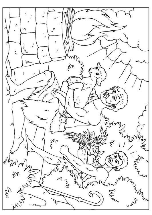 Fantastisch Bibel Malvorlagen Kain Und Abel Zeitgenössisch - Ideen ...