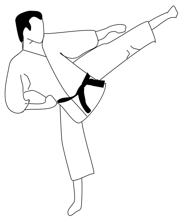 Atemberaubend Taekwondo Malvorlagen Ideen - Malvorlagen Von Tieren ...