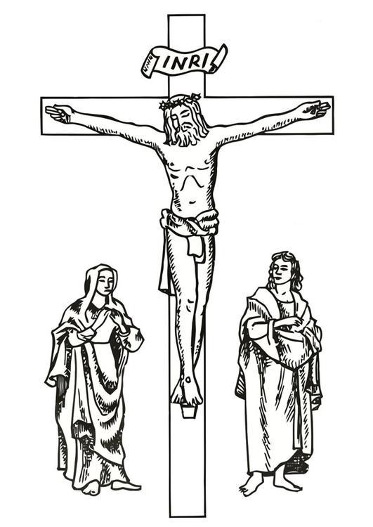 Nett Malvorlagen Von Jesus Am Kreuz Fotos - Framing Malvorlagen ...