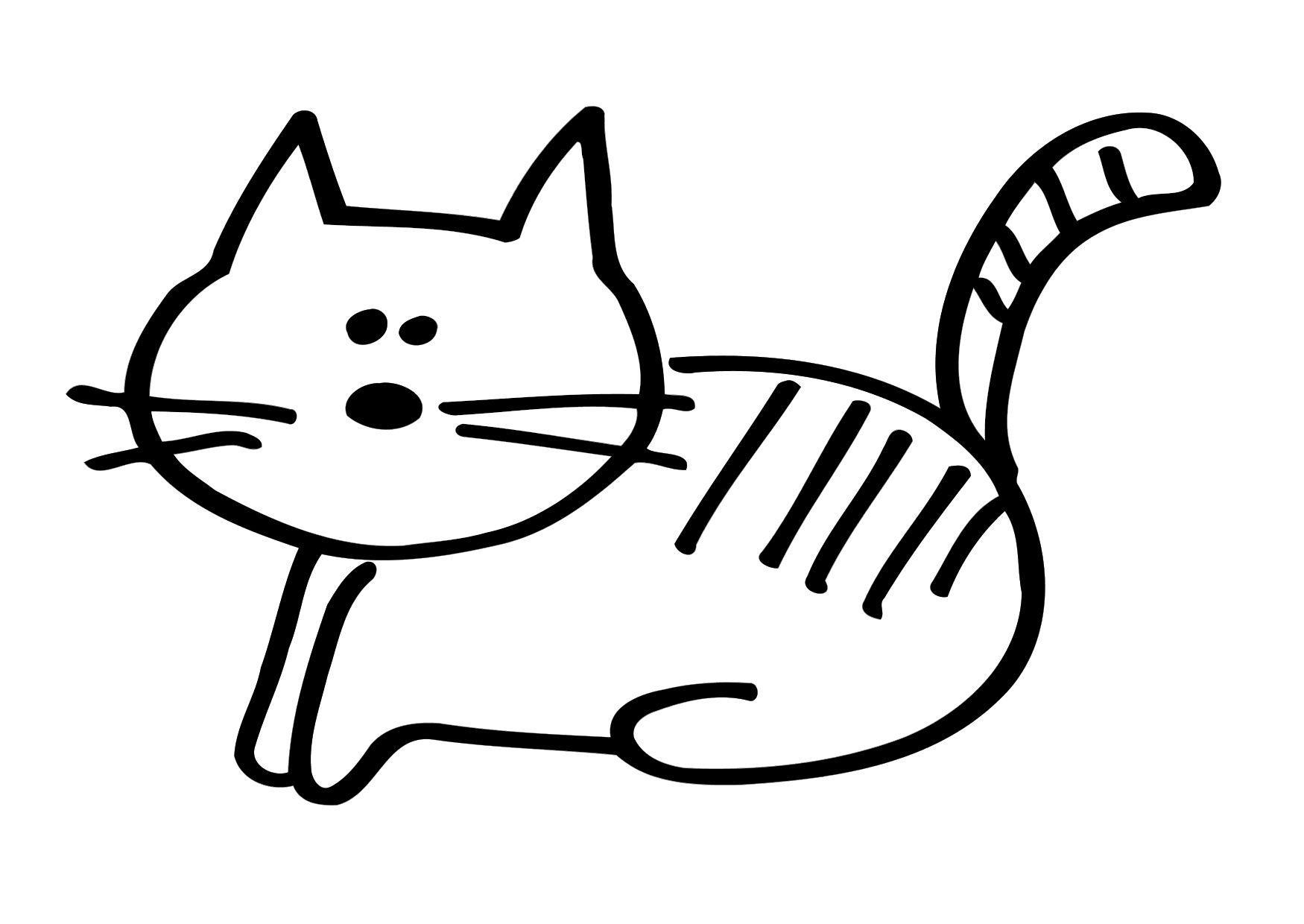 Katzen Ausmalbilder Kostenlos : Ausgezeichnet Malvorlagen Katze Galerie Malvorlagen Ideen