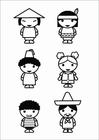 Malvorlage  Kinder - Kulturen