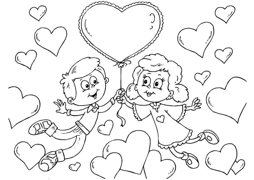 Ausgezeichnet Frei Druckbare Valentinstag Malvorlagen Fotos - Ideen ...