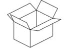 Malvorlage  Kiste