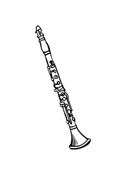 malvorlage klarinette 2  kostenlose ausmalbilder zum