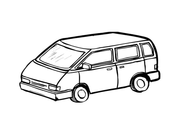malvorlage kleinbus