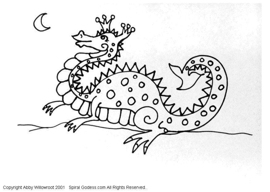 malvorlage kleiner drache  kostenlose ausmalbilder zum