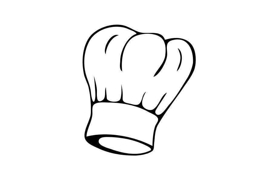 Malvorlage kochm tze ausmalbild 10339 for Koch zeichnen