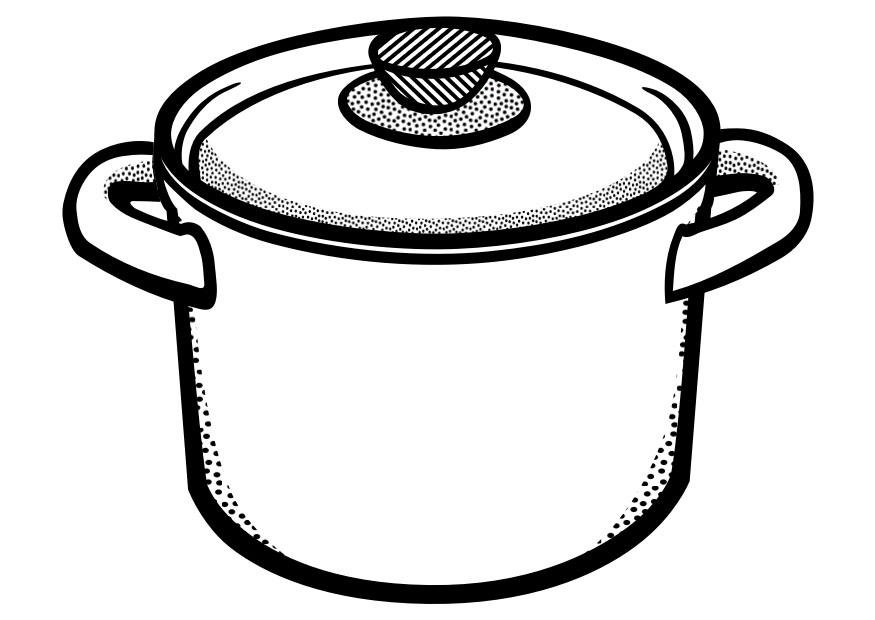 Cooking Spoon Coloring Page