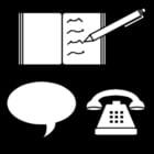 Malvorlage  Kommunikation