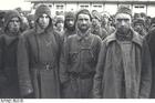 Foto Konzentrationslager Mauthausen - russische Kriegsgefangene