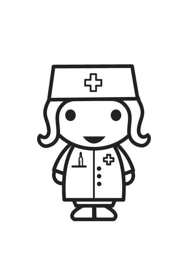 Erfreut Ausmalbilder Der Krankenschwester Zeitgenössisch - Framing ...
