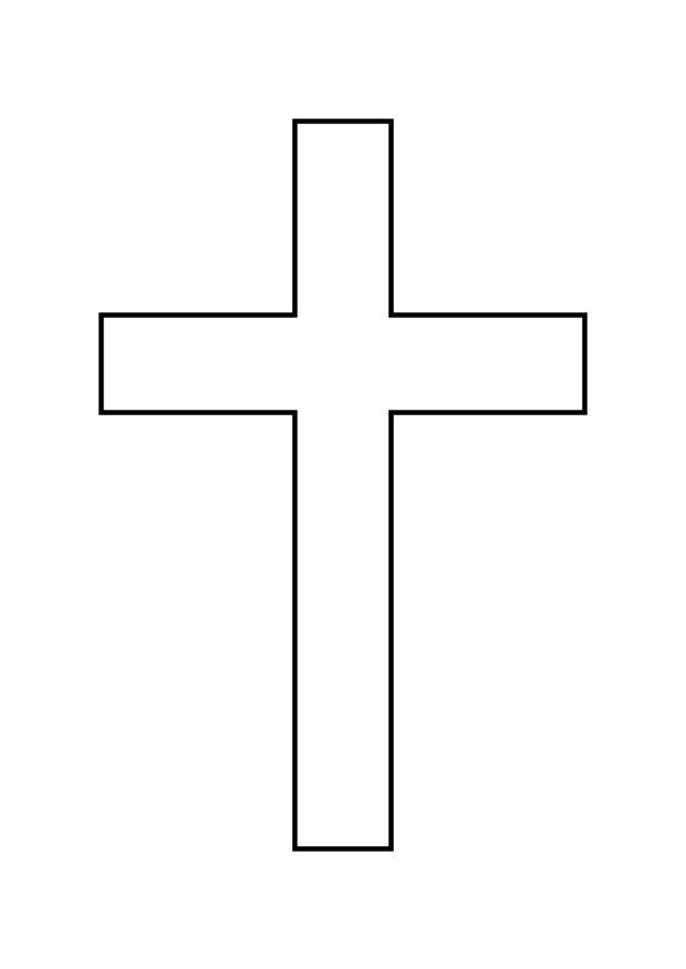 Malvorlage Kreuz Ausmalbild 10340