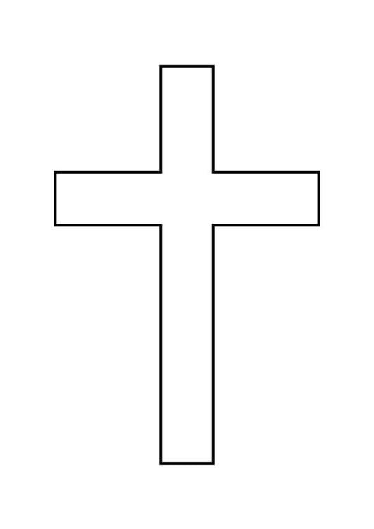 Malvorlage Kreuz