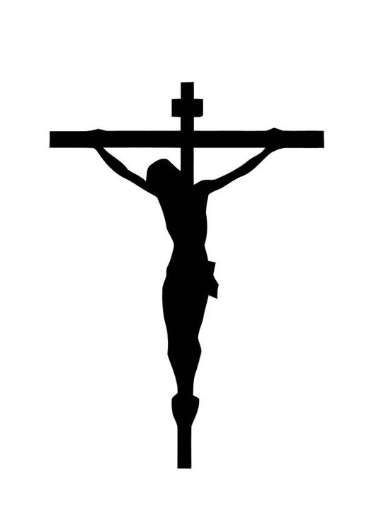 Malvorlage Kreuz | Ausmalbild 10998.