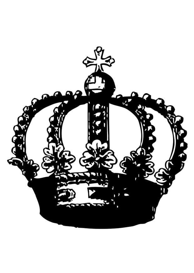 Malvorlage Krone Kostenlose Ausmalbilder Zum Ausdrucken Bild 26988