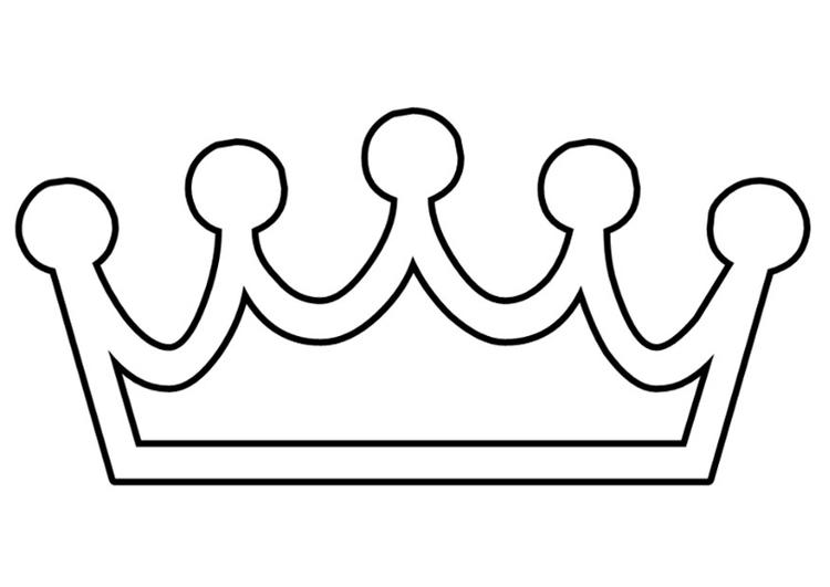 Malvorlage Krone Ausmalbild 22107 Images