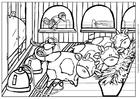 Malvorlage  Kuh 4