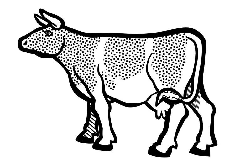 Malvorlage Kuh Ausmalbild 29638