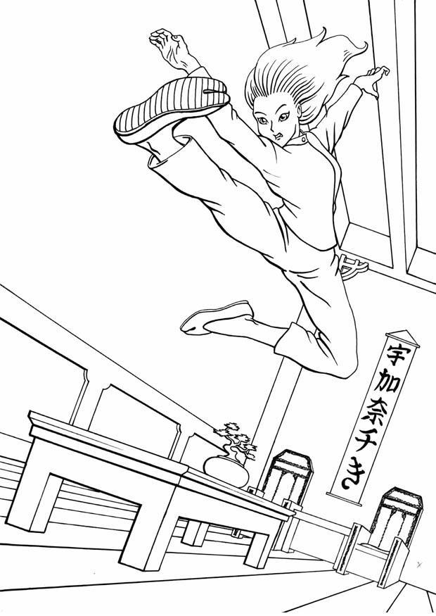 malvorlage kung fu  kostenlose ausmalbilder zum ausdrucken