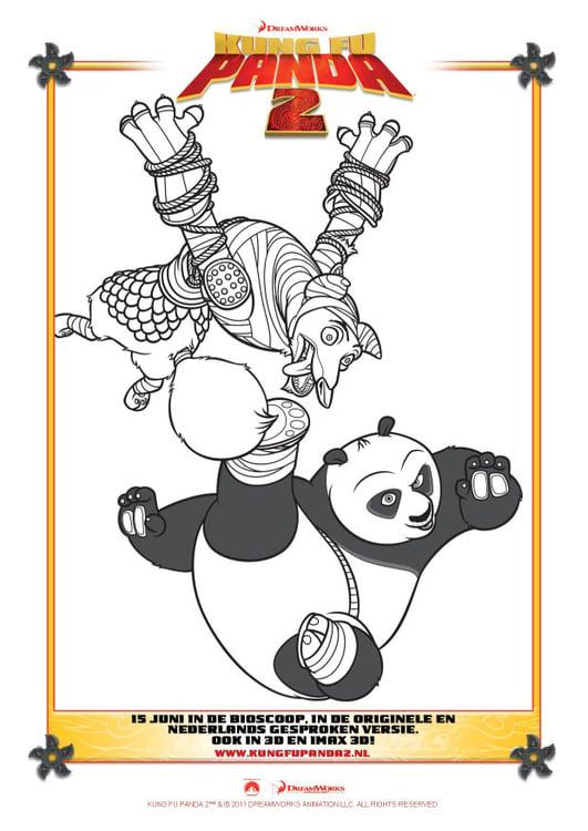 malvorlage kung fu panda 2  ausmalbild 22401