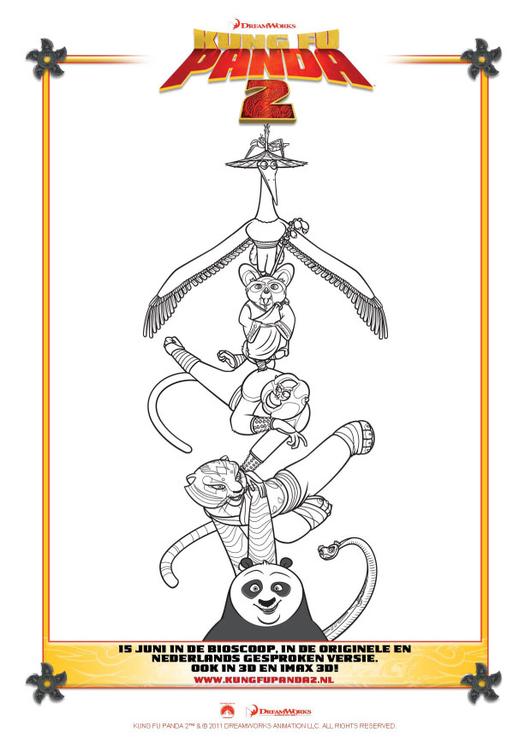 malvorlage kung fu panda 2  kostenlose ausmalbilder zum