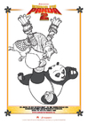 Malvorlage  Kung Fu Panda 2