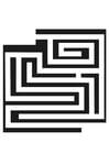 Malvorlage  Labyrinth